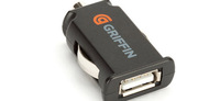 PDA Автоадаптер Griffin PowerJolt Micro 2.1 Amp USB Charger (GC23095)